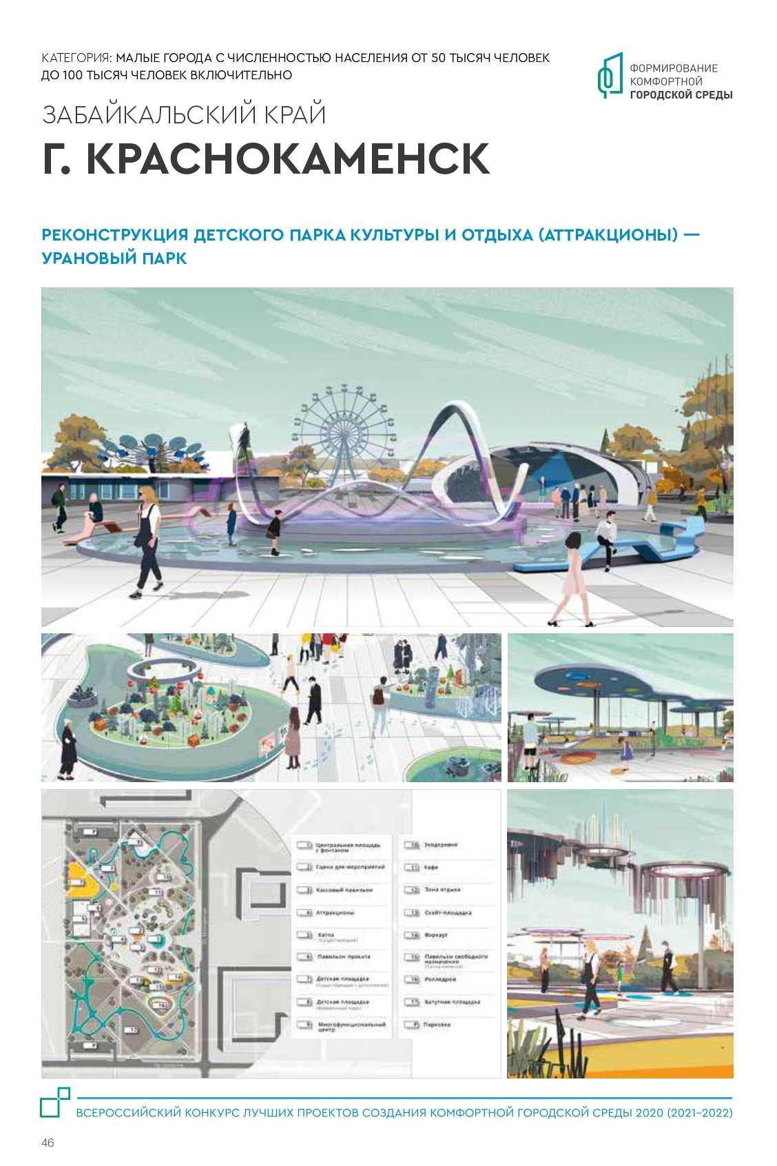 Краснокаменск. Малые города и исторические поселений 2021